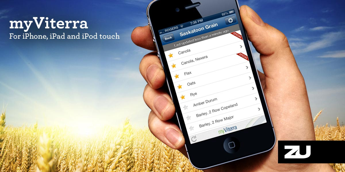 myViterra iPhone and iPad app