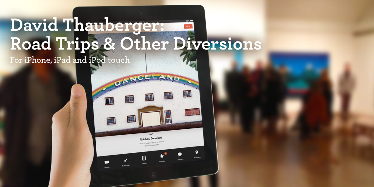 David Thauberger: Road Trips and Other Diversions iPad app
